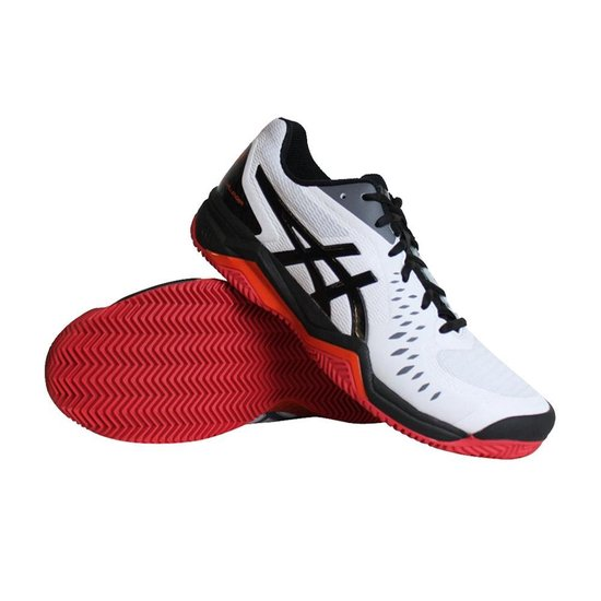 | Asics Gel Challenger 12 tennisschoenen heren witzwart