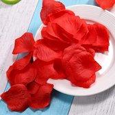 Rozen bladeren rood 3000 stuks | Rode roos blaadjes | gekleurde nep bladeren | kleur blad rood | rozenblaadjes kunstbladeren | kunstmatige decoratie | red rose roses flower