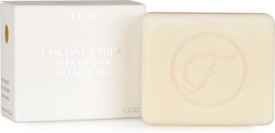 Shampoo bar COCONUT MILK - Shampoo voor droog haar - Zero waste - Vegan - Biologisch - 120gr