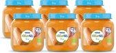 NaturNes® Bio Pompoen, Zoete Aardappel 4+ mnd babyvoeding biologisch - 6 potjes
