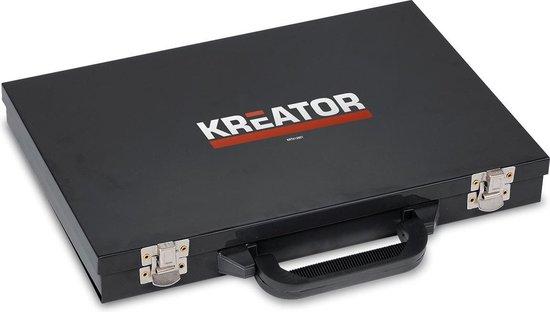 Kreator KRT012801 Metaalboren - 17 delige set
