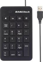 Basetech Bt-Usb-Numb1 Usb Numeriek Toetsenbord Zwart