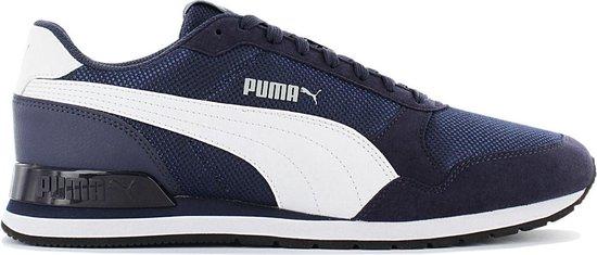 Puma ST Runner V2 Mesh 366811-03 Heren Sneakers Sportschoenen Schoenen  blauw EUR 42