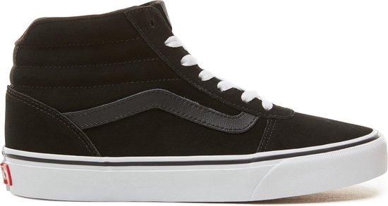 bol.com | Vans Wm Ward Hi Dames Sneakers - (Suede) Black ...