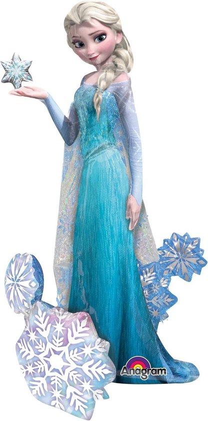 """""""Mega grote aluminium ballon van Elsa Frozen ™ - Feestdecoratievoorwerp - One size"""""""