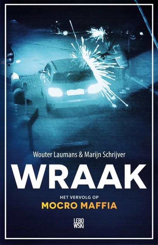 Boek cover Wraak van Wouter Laumans (Paperback)
