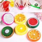 Fruit glitter slijm 3 stuks -  8cm | Leuke slijm