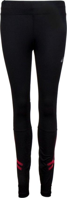 Asics Icon Tight  Sportbroek - Maat S  - Vrouwen - zwart/roze