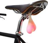 Bike Balls Fietsverlichting LED - Fietszadel - Siliconen