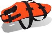 Honden zwemvest (Incl Veiligheidsvest) Oranje Maat M - Zwemvest honden - Reddingsvest hond