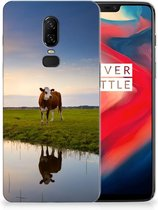 OnePlus 6 TPU Hoesje Koe