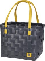 Handed By Color Block - Shopper - Donker grijs