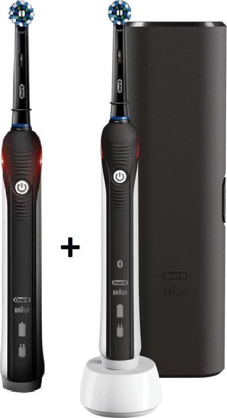 Bol Com Oral B Pro 2500 Duo Handle Cross Action Black Elektrische Tandenborstel