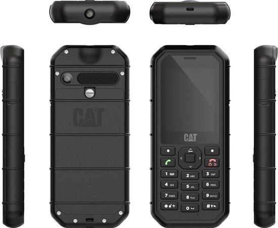 CAT B26 Ruggedized GSM - IP68 - Valbescherming - Zwart