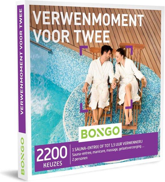 Bongo Bon België - Verwenmoment voor Twee Cadeaubon - Cadeaukaart cadeau voor man of vrouw | 2200 verwenarrangementen: sauna, massage en beauty