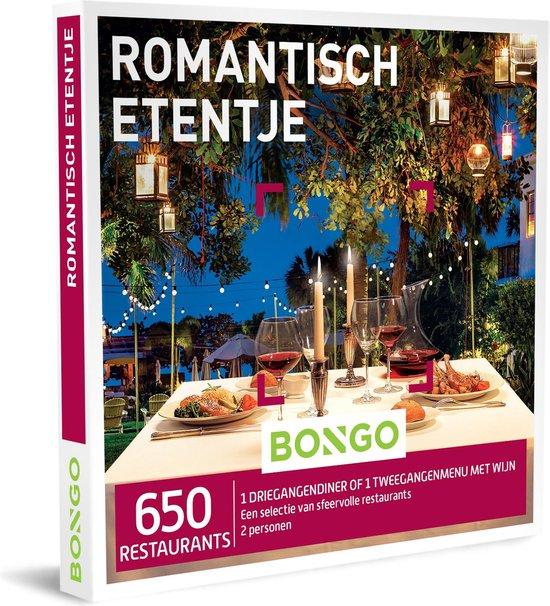 Bongo Bon Nederland - Romantisch Etentje Cadeaubon - Cadeaukaart cadeau voor koppels | 650 sfeervolle restaurants