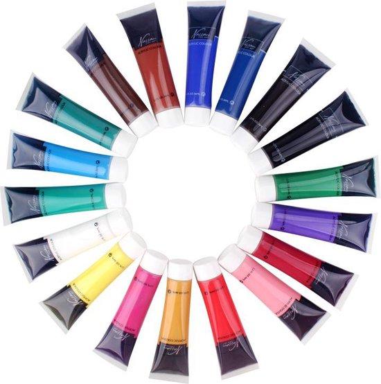 Acrylverf Set - 18 Delig - 36ML | Acrylic Paint Set