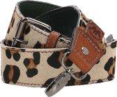 Micmacbags Wildlife Schouderband - Wild Leopard