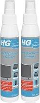 HG beeldschermreiniger  Hygiëne  125ML - 2 Stuks !