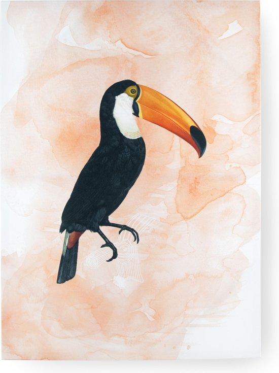 Art for the Home - Canvas Schilderij - Toekan - 50x70 cm