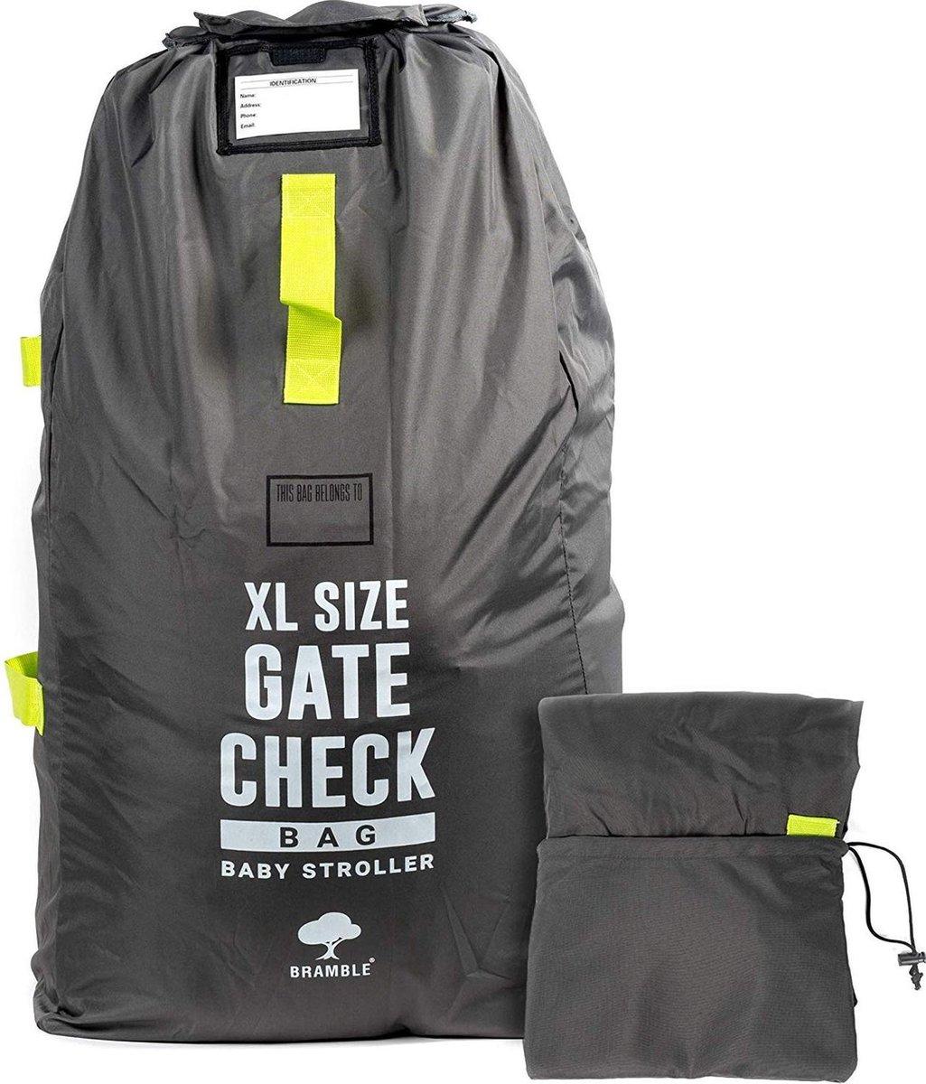 Extra grote gate check reistas voor buggy - Wandelwagens -  Kinderwagen tas - Buggy tas - Autostoele