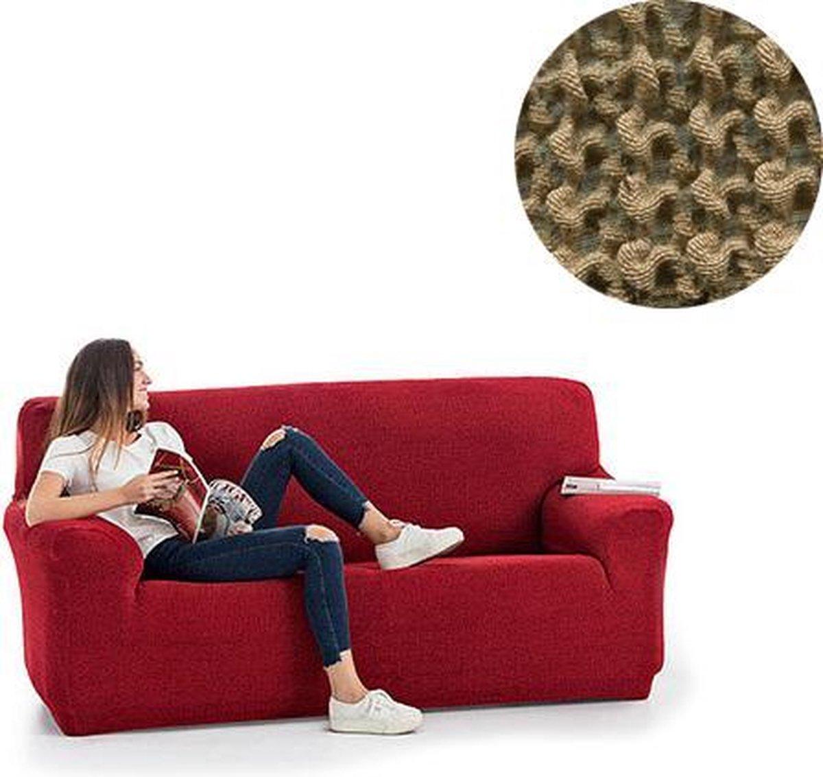 Milos meubelhoezen - Bankhoes - 130-180cm - Beige - Verkrijgbaar in verschillende kleuren!