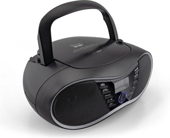 Caliber HBC434DAB-BT - Radio cd speler met dab+ en bluetooth - Zwart