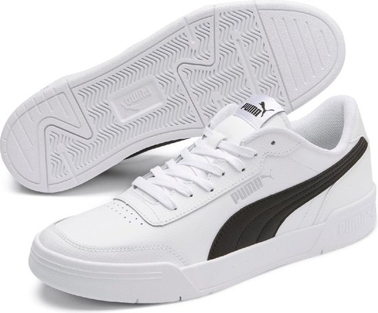 PUMA Caracal Unisex Sneakers - Puma White-Puma Black - Maat 43