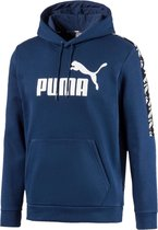 PUMA Amplified Hoody FL Heren Trui - Dark Denim - Maat L
