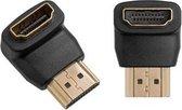 HDMI adapter 90 graden haaks | Computer - TV - PS4/XBOX