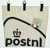 Toetie & Zo Handgemaakte Brievenbus Postvanger PostNL, postopvangzak, opberger