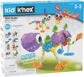 Kid K'NEX - Dino Dudes - Bouwset - 100 onderdelen