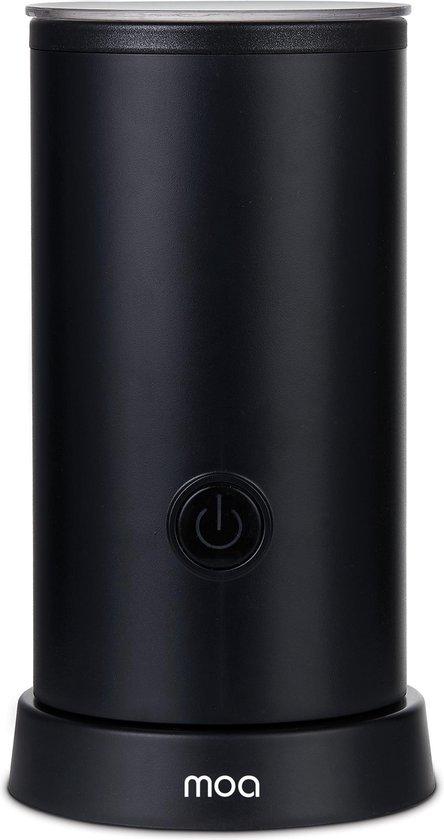 MOA Melkopschuimer Elektrisch - BPA vrij - Voor Opschuimen en Verwarmen - Zwart - MF5B