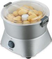 MOA Aardappelschiller Elektrisch - Schilmachine - Potato Peeler - Dunschiller - Zilverkleurig - PP09S
