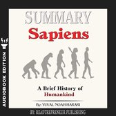 Omslag Summary of Sapiens: A Brief History of Humankind by Yuval Noah Harari