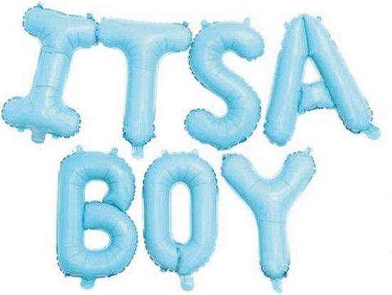 Geboorte jongen | It's a Boy | Folieballon