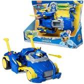 Afbeelding van PAW Patrol Mega Pups Super Paws Transformerende Voertuig Chase speelgoed