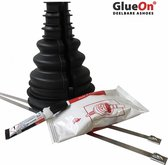 GlueOn deelbare ashoes set - Zwart - 70mm tot 80mm