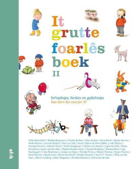 Boek cover It grutte foarlêsboek II van Diverse (Hardcover)