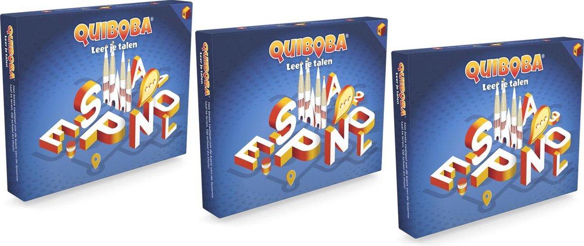 Voordeelpakket Spaanse taal spel - 3 taalspellen om de basiskennis Spaans te leren voor jong en oud