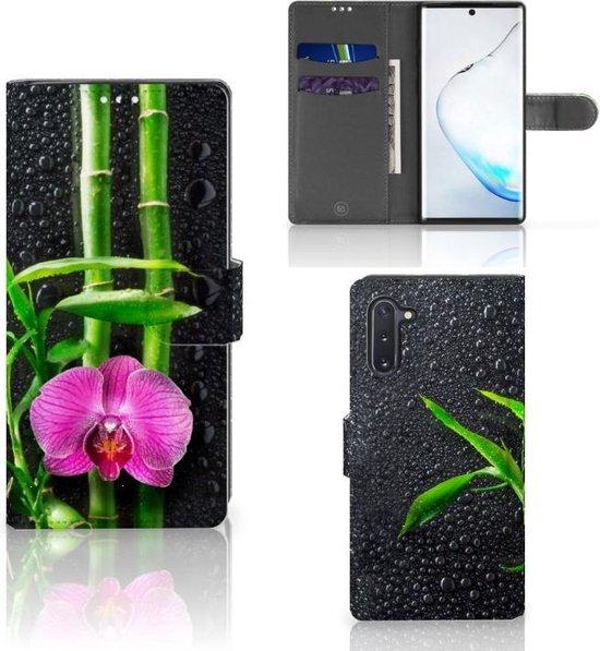 Samsung Galaxy Note 10 Hoesje Orchidee