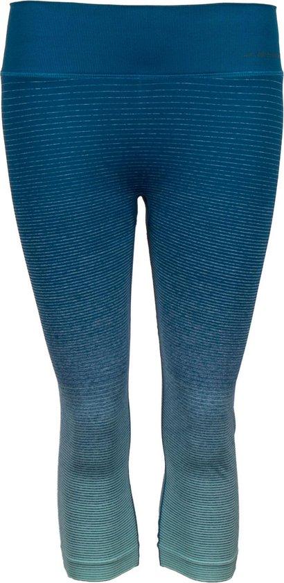 Brooks Streaker Sportlegging - Maat M  - Vrouwen - Blauw/grijs