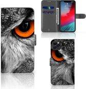 iPhone 11 Pro Max Telefoonhoesje met Pasjes Uil