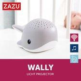 Zazu Wally de walvis lichtprojector met muziek roze Roze
