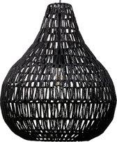 Beliani MOLOPO - Hanglamp - zwart - papier