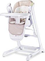 Kinderstoel 0+ new borns 2 in 1 Caretero Indigo beige, met swing functie