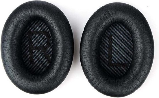 Afbeelding van Oorkussens voor Bose Zwart QuietComfort 35 QC35 en QC35II