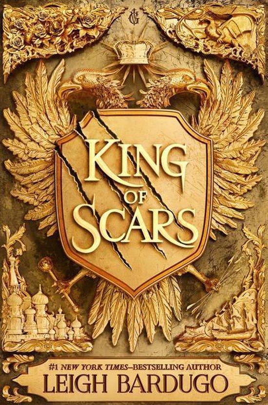 Boek cover King of Scars van Leigh Bardugo (Onbekend)