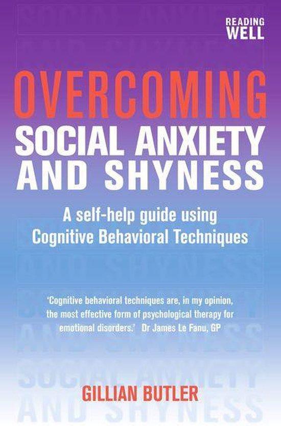 Boek cover Overcoming Social Anxiety and Shyness van Gillian Butler (Onbekend)
