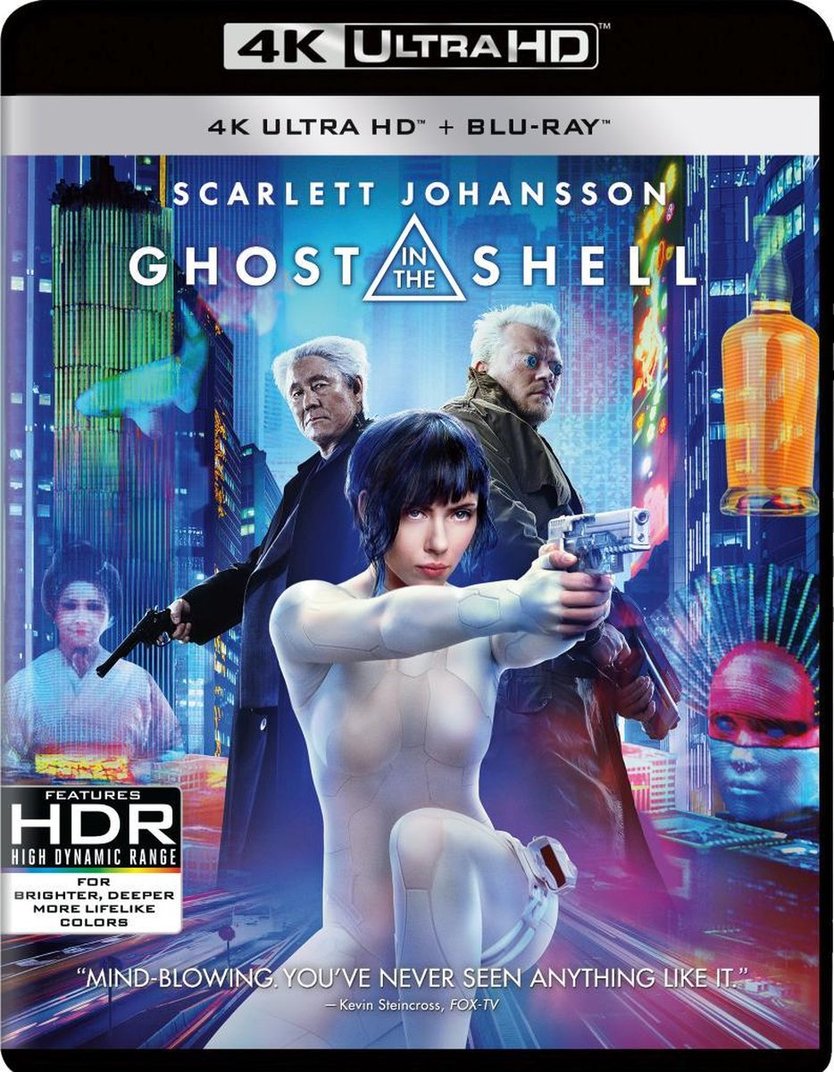Ghost In The Shell (4K Ultra HD Blu-ray)-